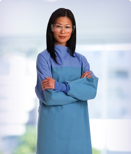 Barrier Gowns Surgical Gowns from MediCleanse